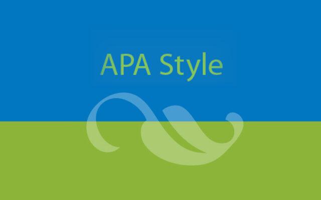 APA-standarden